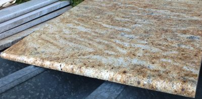 Rust Wave Granite Shelf or Dresser Top – 27-3/4 x 25.5 x 3/4  (4.91 sf) – $40.