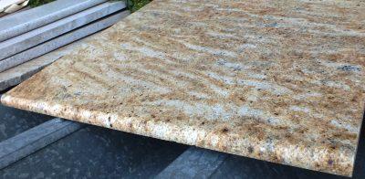 Rust Wave Granite Shelf or Dresser Top – 27-3/4 x 25.5 x 3/4  (4.91 sf) – $40.